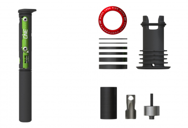 Kit Top Cap et Multi-Outils OneUp EDC Tool System avec outils de Montage Rouge