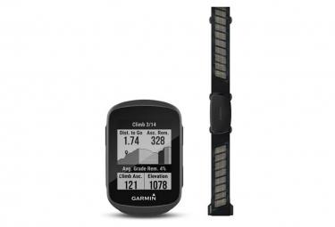 Compteur GPS Garmin Edge 130 Plus Pack HRM