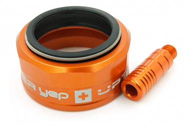 Guide ring Yep Components 3.0 + end cap for lever Orange