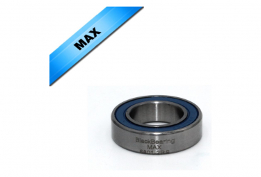 BLACK BEARING roulement 61801-2RS / 6801-2RS MAX