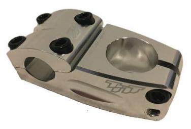TNT 1-1/8 THREADLESS Potence 53mm - SILVER