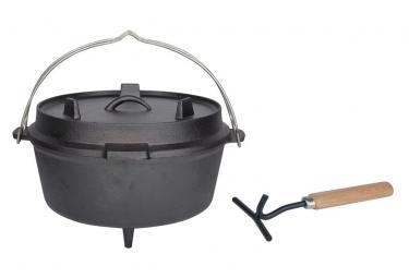 Image of Esschert design marmite 6 5 l noir ff235