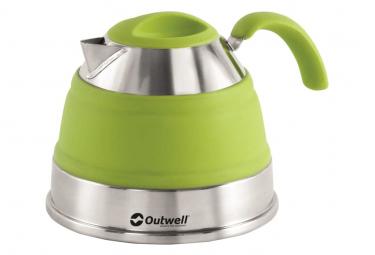 Image of Outwell bouilloire pliante 1 5 l vert citron 650127