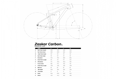Halbstarres MTB | GT Zaskar Carbone Expert 29 '' | Sram SX Eagle 12v | Schwarz