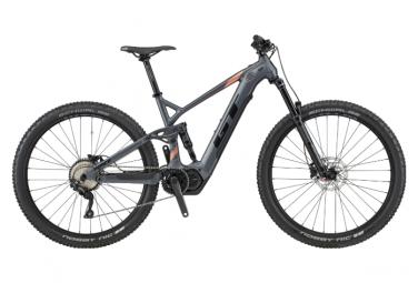 Mountain bike elettrica a sospensione completa GT e-Force Current | Shimano Deore 10s | Nero | 2020