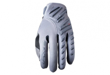 Paire de Gants Longs Five Enduro Air Gris