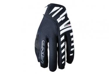 Pair of Long Enduro Air Gloves White / Black