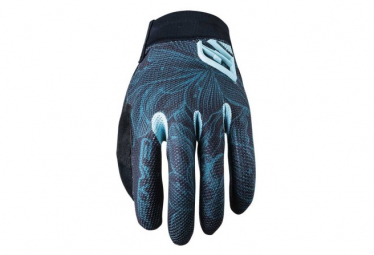 Pair of Women's Long Gloves Five XR-Pro Blue