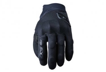 Pair of Long Five XR-Trail Protech Gloves Black