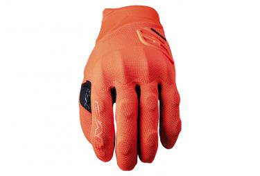 Paire de Gants Long Five XR-Trail Protech Orange
