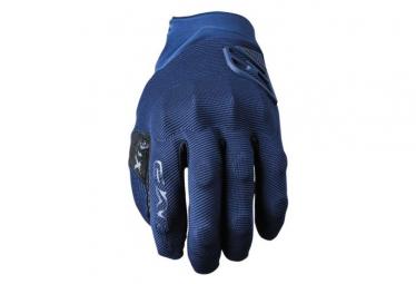 Paire de Gants Long Five XR-Trail Protech Bleu