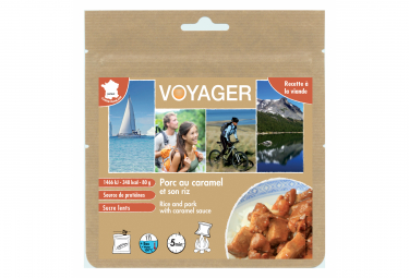 Lyophilis Voyager Rice with pork and caramel sauce 80g