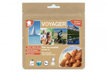 Repas Lyophilisé Voyager Porc au caramel et son riz 80g