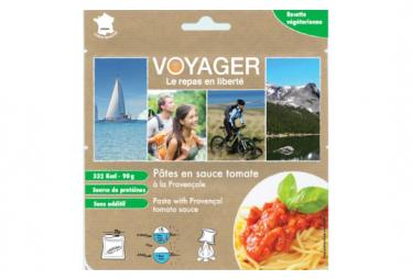Repas Lyophilisé Voyager Pâtes en sauce tomate à la provençale 90g