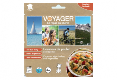 Lyophilis Voyager Couscous with chicken and vegetables 160g