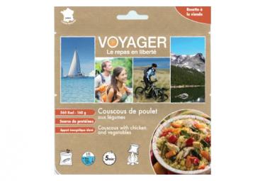 Repas Lyophilisé Voyager Couscous de poulet aux légumes 160g