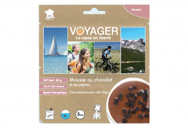 Mousse De Chocolate Con Chips 80g