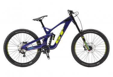 Gt fury carbon expert 27 5 mtb de doble suspension shimano zee 10s 27 5   purple chartreuse green 2019 m   170 178 cm
