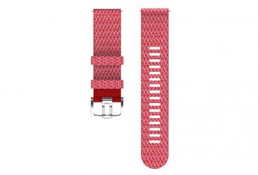 Correa de tela Polar 22 mm Reloj rojo Grit X