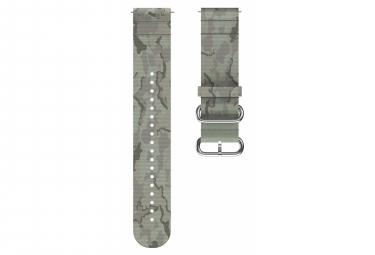Bracelet tissu Polar 22 Mm Vert Tundra