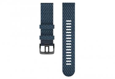 Bracelet tissu Polar 22 Mm Bleu