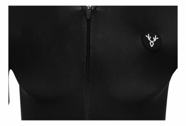 Maillot Manches Courtes LeBram Loze Noir Coupe Aero