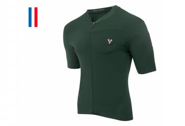 LeBram Allos Kurzarm Jersey Agave Green Slim Fit