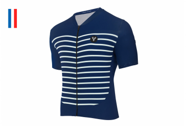 LeBRAM Ventoux Marine Short Sleeve Jersey