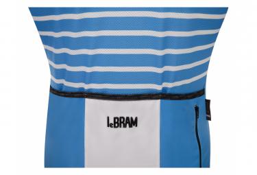 LeBram Ventoux Azure Short Sleeve Jersey Blue Fit