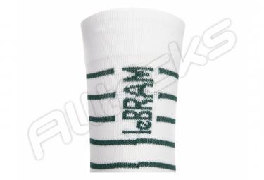 Paire de Chaussettes LeBram Ventoux Blanc Vert Agave