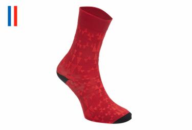 Pair of Red LeBram Loze Socks