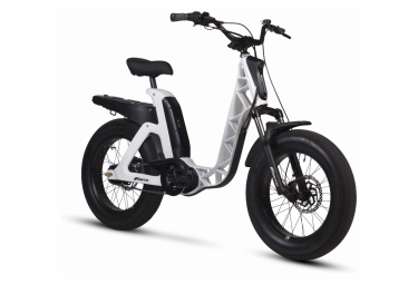 Vélo de Ville Électrique Fantic Issimo Fun Shimano Nexus 5V 630 Blanc / Noir 2020