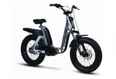 Vélo de Ville Électrique Fantic Issimo Fun Shimano Nexus 5V 630 Gris 2020