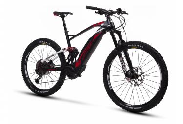 VTT Electrique Tout-Supendu Fantic XF1 160 Carbon Sram GX Eagle 12v 630Wh Noir / Rouge 2020