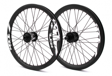 Pair of Pride Racing Gravity Pro UD Matt Carbon Wheels - Black Control Hub