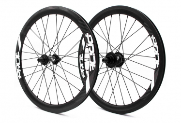 Pride Racing Gravity Exp UD Gloss 10mm Carbon Wheelset - Black Control Hub