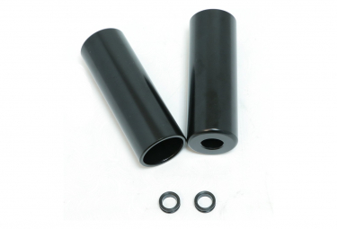 Pair of Pegs Session Black W / 10MM Adapter