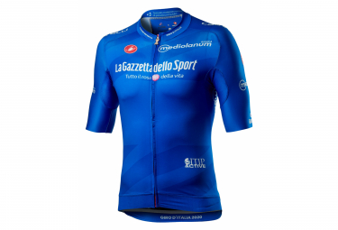 Maillot Castelli # Giro103 Race Manga Corta Azul Azzurro