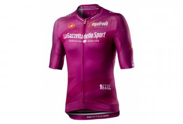 Maillot de manga corta Castelli # Giro103 Race Ciclamino Purple Bordeaux
