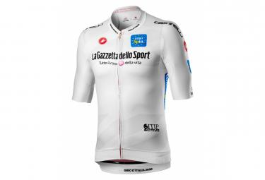 Maillot Castelli # Giro103 Race Manga Corta Blanco