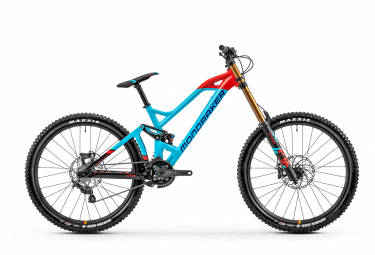 MTB Doble Suspensión Mondraker Summum R 27.5'' Bleu / Orange 2020