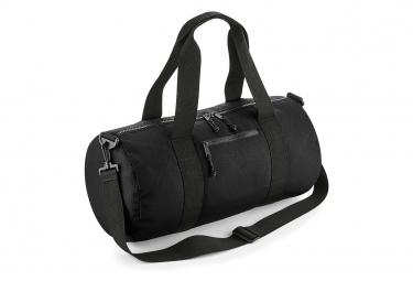 Bag-base Sac polochon en polyester recyclé - BG284 - noir