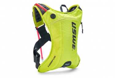 USWE Outlander 2 Hydration Pack with Water Bag 1.5L Neon Yellow