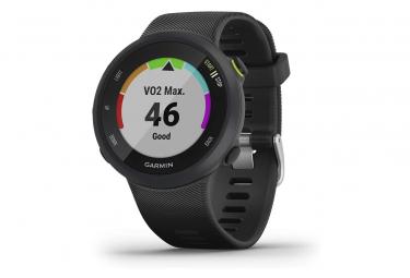 Montre de course à pied GPS Garmin Forerunner 45 avec support de plan d'entraînement Garmin Coach - Noir, Grand