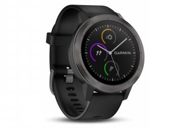Montre connectée GPS Garmin Vivoactive 3 avec applications sportives intégrées et fréquence cardiaque au poignet, bronze à canon