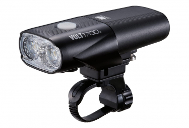 Cateye CA460V1700 Unisexe Volt 1700 RC Rechargeable Front Light, Black, One Size