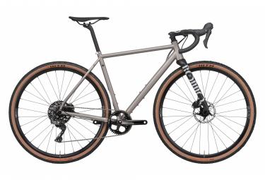 Gravel Bike Rondo Ruut Ti Shimano GRX 11V 2020 Gris / Noir