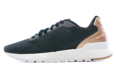 Chaussures running noires femme Le Coq Sportif Omega