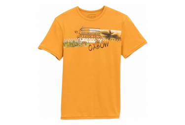 Tee shirt Jaune Homme TENREC Oxbow