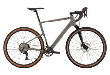 Gravel Bike Cannondale Topstone Carbon Lefty 3 650b Shimano GRX 11V Stealth Grey 2021